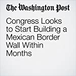 Congress Looks to Start Building a Mexican Border Wall Within Months | Mike DeBonis