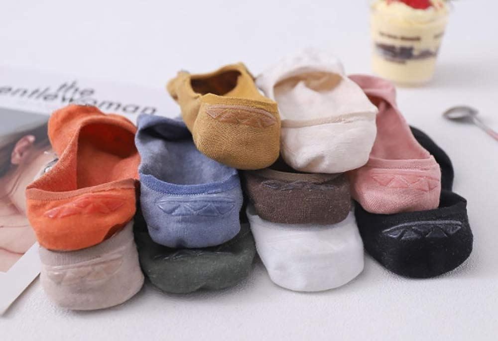 Yidarton Damen Socken Baumwolle Komfortabel Netter Cartoon Bestickte Lustig kurz Frauen Socken 10 Paar