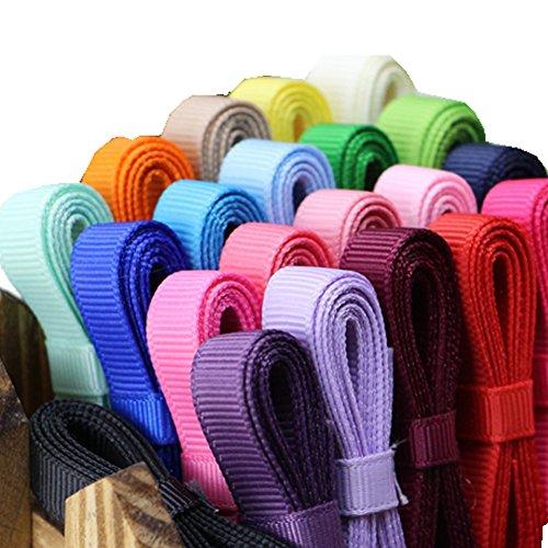 1 Yard Grosgrain Ribbon - Rimobul 6mm Grosgrain Ribbon Collection 22 Colors - 1 Yard Per Color