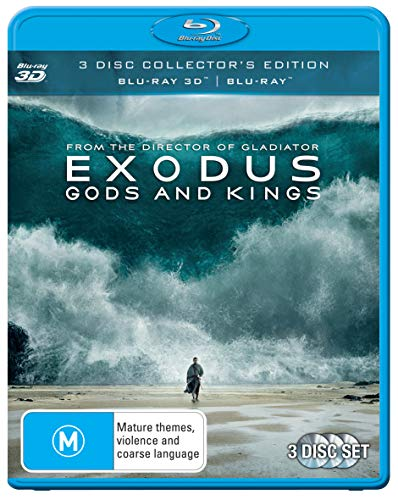 Exodus - Gods And Kings (Christian Bale) 3D + Blu-ray