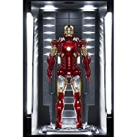 Iron Man 3 Action Hero Vignette 1/9 Mark VII Hall of Armor 20 cm Dragon Models