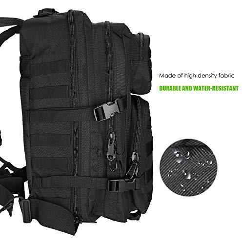ProCase Sac à Dos Style Militaire, 40L Grand Volume Sac à Dos Multifonction, pour École Trekking Randonnée Camping… 2