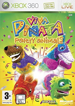 Image of: 360 Kinect Amazon Uk Viva Piñata Party Animals xbox 360 Amazoncouk Pc Video Games