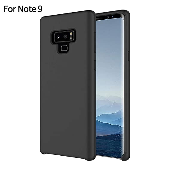 best cheap b243d 032f2 YCFlying Galaxy Note 9 Case, Galaxy Note 9 Silicone Case Cover Liquid  Silicone Gel Rubber Case with Soft Microfiber Cloth Lining Cushion for  Samsung ...