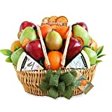 California Delicious Farmers Market Fruit and Cheese Gift Basket