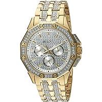 Bulova Men's  98C126  Swarovski Crystal Pave Bracelet Watch