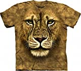 The Mountain Lion Warrior Child T-Shirt, Brown, Large