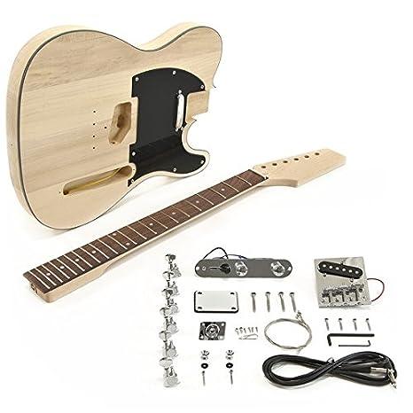 Kit de Bricolaje de Guitarra Eléctrica Knoxville: Amazon.es: Instrumentos musicales
