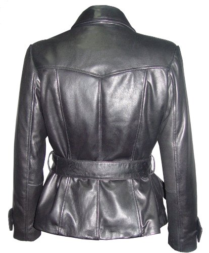 Nettailor 4195 Fitted Clean Blazer Jackets Womens with Belt Business Clothing by NETTAILOR (Image #4)