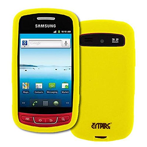 EMPIRE Samsung Admire R720 Jaune Silicone Skin Case Étui Coque Cover Couverture