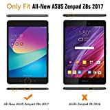 "ASUS ZenPad Z8s Case, UZER Ultra Slim Lightweight PU Leather Smart Case Protective Folding Trifold Stand with Soft TPU Back Cover for ASUS ZenPad Z8s/ZT582KL/ASUS-P00J 7.9"" Tablet 2017 Release"
