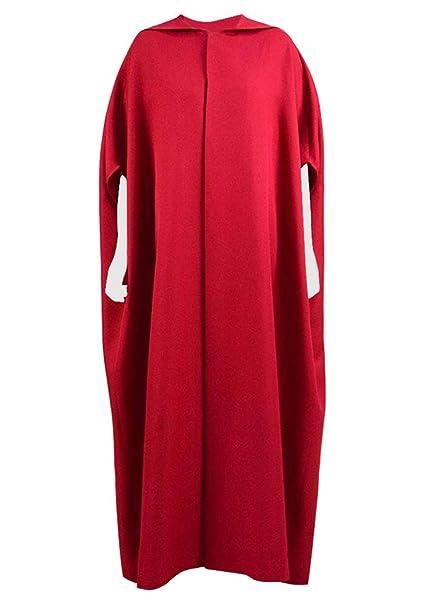 Amazon.com: Xiao maomi para mujer vestido rojo disfraz de ...
