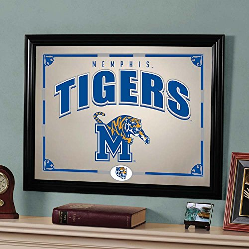 The Memory Company NCAA Memphis, University of Official Mirror, Multicolor, 23 x 18'' by The Memory Company