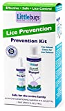 Littlebugs Mint Lice Spray with Conditioning Mint Shampoo for Prevention   Natural, Sulfate-Free, Neem & Spearmint Essential Oils   Highly Effective Non-Toxic Daily Repellent