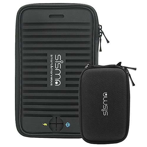 Sisma Travel Organizer Carrying Bag 2 in 1 for Electronics and Accessories Black Bundled SCB16128S-B Photo #9