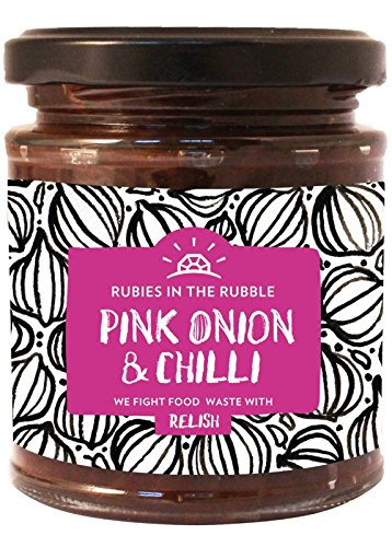 Rubies In The Rubble Red Onion& Chilli Relish 210g (Relish Ruby)