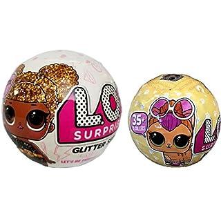 Bundle Lets Be Friends! Surprise Glitter Doll and Surprise Pet - 2 LOL Surprises!