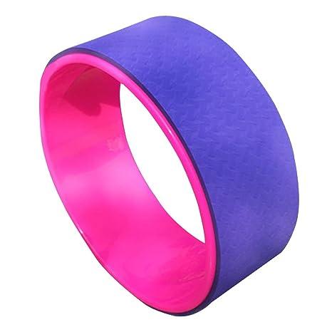 Amazon.com: Yoga Wheel, Anti-slip Pilates Circle Novice ...
