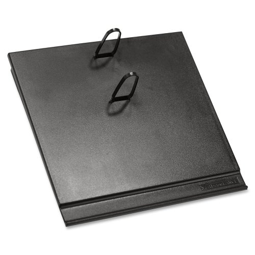 At-A-Glance E17 Plastic Calendar Base-17-Style Cal Base, Plastic, 2 Rings, 3-1/2''x6'', Black (Case Of 15)