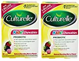 Culturelle Kids Chewables Daily Probiotic Formula, (Package may vary) 30 Count (2 Pack)