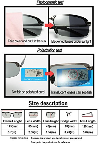 1a54f8612f YIMI Polarized Sports Sunglasses Day and night Driving glasses ...