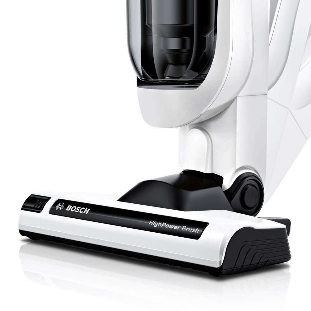 Bosch BCH6ATH25K Athlet Aspirador sin cable más kit de accesorios, batería de 25.2 V, color blanco