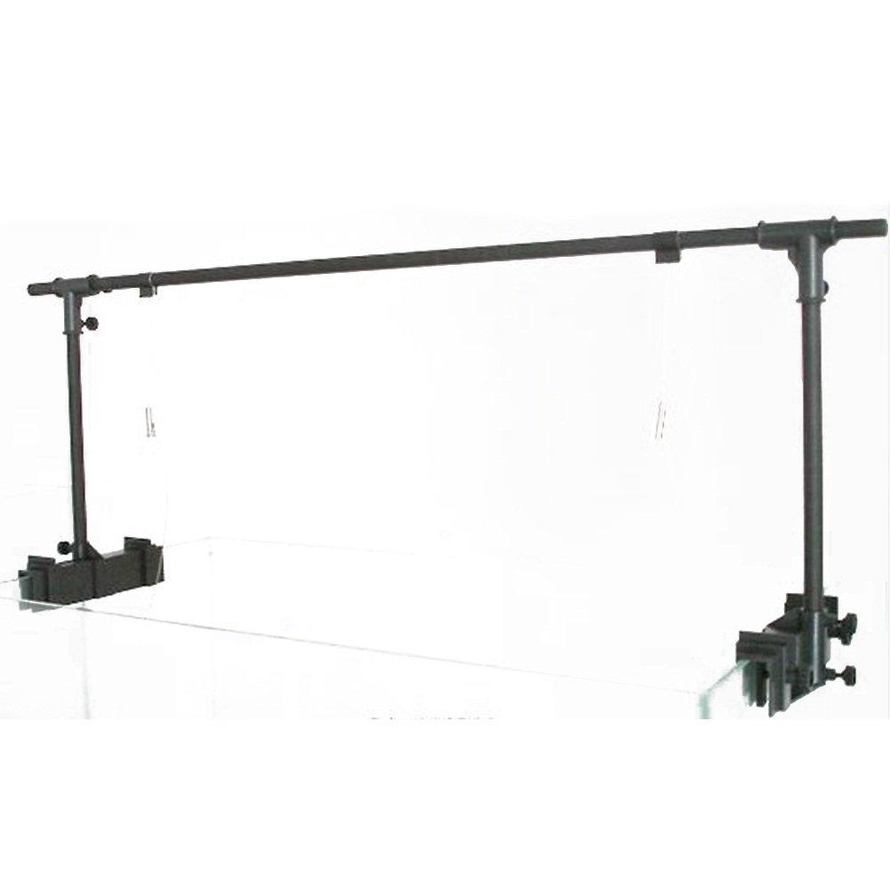 Brightsky 24'' 36'' 48'' 60'' Aquarium Light Suspension System Tank Bracket Hanging Kit (48'')