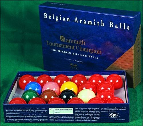 Kugelsatz Aramith Snooker Tournament TV 52, 4mm
