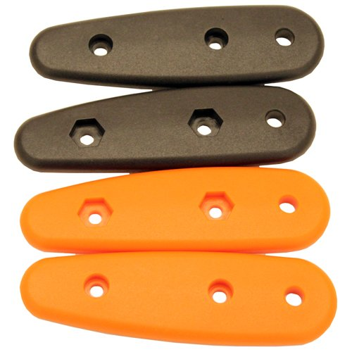 Ka-Bar Becker Scales Handles, Black/Orange ()