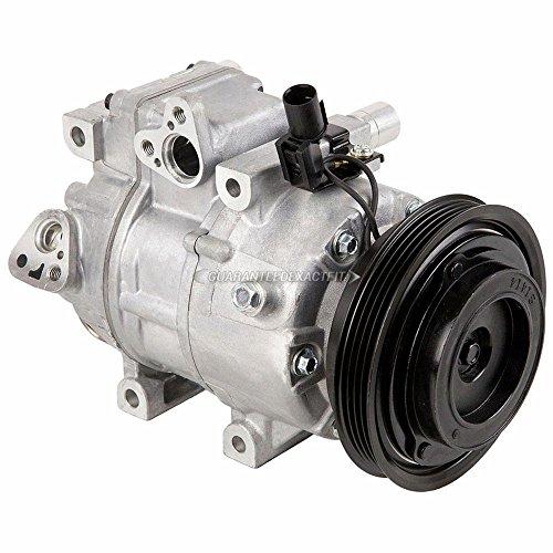 Hyundai A/c Compressor - AC Compressor & A/C Clutch For Hyundai Accent 2006 2007 2008 2009 - BuyAutoParts 60-02433NA NEW