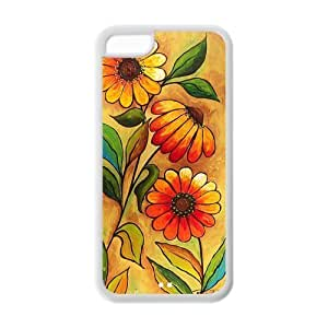 TYHH - 5/5s case,Daisy Sunflower 5/5s cases,5/5s case cover,iphone 5/5s case ending phone case