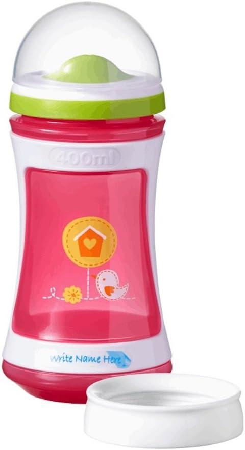 24 + 400 ml rosa rosa Tommee Tippee Explora Vaso para beber de 2 etapas