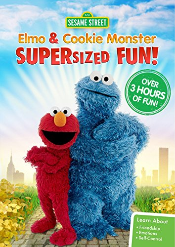 Sesame Street: Elmo and Cookie Monster Supersized Fun (Elmo Star)