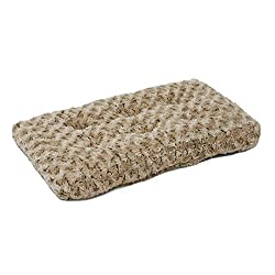 "Midwest Quiet Time Pet Bed Deluxe Mocha Ombre Swirl 17"" X 11"""