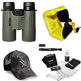 Vortex 8x42 Viper HD Binocular + Foam Float Strap + Accessory Kit