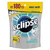 Eclipse Polar Ice Sugarfree Gum, 180 Piece Bag, 8.8