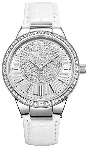 JBW Women's J6345B Camille 0.16 ctw Stainless Steel Diamond Watch