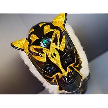 TIGER MASK WRESTLING MASK LUCHADOR COSTUME WRESTLER LUCHA LIBRE MEXICAN MASKE