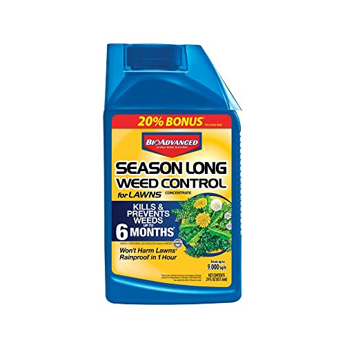 Bayer Advanced 704050 Season Long Weed Control for Lawn Concentrate, 29-Ounce (Not Sold in NY)