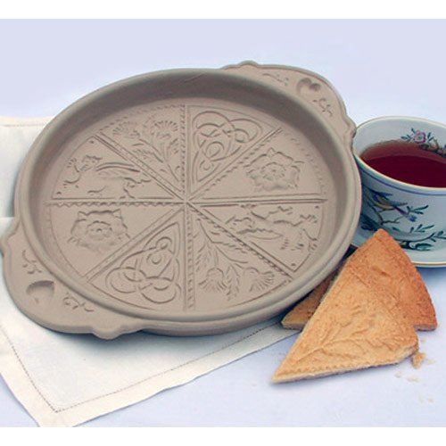 Brown Bag Design British Isle Shortbread Cookie Pan, 11-1/4-Inch by 9-1/4-Inch