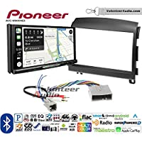 Volunteer Audio Pioneer AVIC-W8400NEX Double Din Radio Install Kit with Navigation, Apple CarPlay and Android Auto Fits 2006-2008 Hyundai Sonata