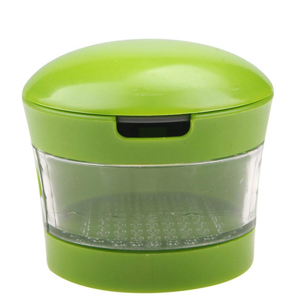 Kitchen Innovations Garlic Peel Garlic Press Crusher Mincer and Storage Container Garlic Chopper Kitchen Tool