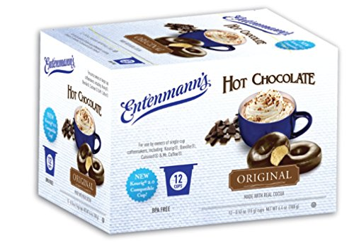 Entenmann's Single Serve Coffee, Hot Chocolate, 12 Count (Pack of 6)