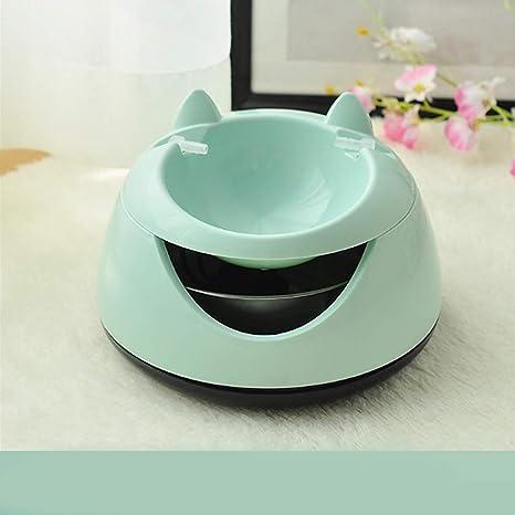 Yanhonin Fuente de Agua para Gatos, dispensador Agua para Gato con Filtro, Fuente de