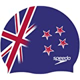 Speedo Flat SILC CAP AU Cuffia, Multicolore (New Zealand), Taglia Unica