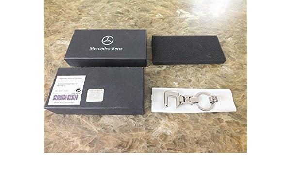 Mercedes Benz Clase C Llavero: Plata: Amazon.es: Coche y moto