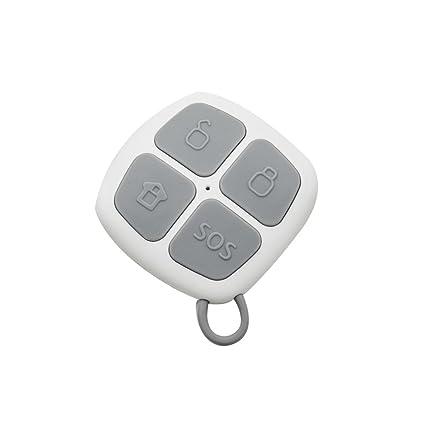 Eray Control Remoto/ Mando a Distancia para el Sistema de Alarma GS-S1, 433MHZ, Pilas Incluidas