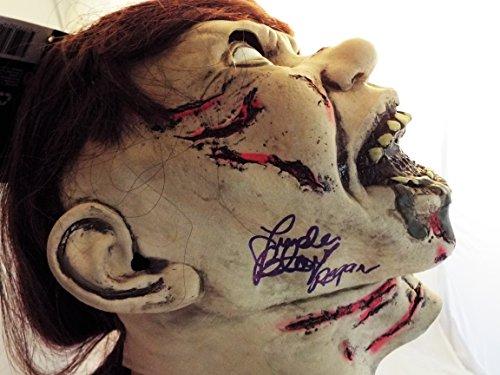 Linda Blair Signed / Autographed Regan from Exoricst Mask...JSA COA Inscribed Regan -