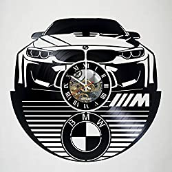 BMW - Car - Automobile - vinyl Wall Clock - Modern room decor - Handmade Gift -Original Gift Idea For Men and Women - Exclusive Comics Superhero Fan Art