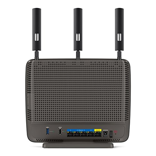 Linksys AC3200 Tri-Band Smart Wi-Fi Router with Gigabit and USB, Designed for Device-Heavy Homes, Smart Wi-Fi App Enabled to Control Your Network from Anywhere (EA9200) by Linksys (Image #3)